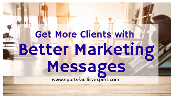 Better Marketing Messages for Your Sports Academy
