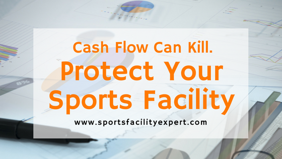 Cash flow management for sports facilities