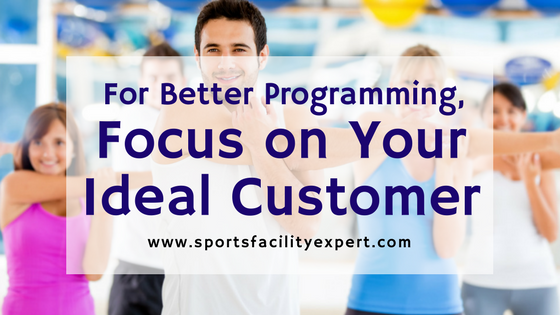 how you can focus on sports facility customers
